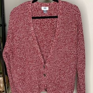 Old navy button up sweater